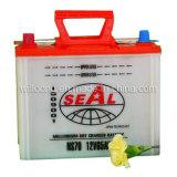 Secar la batería de coche de la carga 60Ah (NS70)