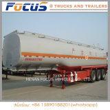 販売のためのHOWO Sinotruckの炭素鋼の原油のタンカーか半トラックのトレーラー