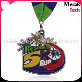 Promoción del multicolor Lleno de metal de encargo del brillo Spinning Medallas