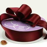 Haute qualité couleur solide tissu Premium de ruban de satin (AM-SR001)