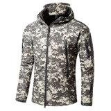 판매 (QF-4123)를 위한 양털 안대기를 가진 Softshell 격리된 재킷