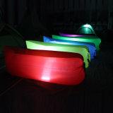 膨脹可能な寝袋のソファーベッドのエアーバッグ、LEDライトが付いている多彩な屋外のスリープの状態であるエアーバッグ