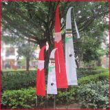 Férias de Natal Jardim Pátio bandeira bandeira bandeira de Bali Santa e Boneco de Neve