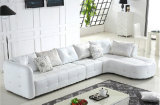 Moderne italienische lederne Möbel F239 Sofa-Herstellerfoshan-Gbg