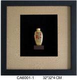 Le tabac à priser bouteille avec le châssis (CA)6001-1