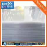 Folha transparente plástica rígida expulsa do PVC para a formação do vácuo