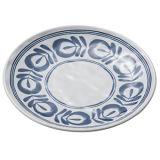 """100 % 7""""de la mélamine vaisselle/plaque ronde de mélamine/dîner la plaque (JB13807-07)"""
