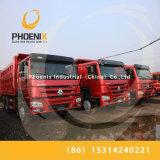Vrachtwagens van Sinotruk HOWO van de lage Prijs Gebruikte 10 de Kipper van de Vrachtwagen van de Stortplaats van Banden 6X4 met Beste Voorwaarde