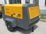 110~1200cfm Portable compresor de aire del motor Diesel
