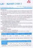 Flux Hj107 pour l'acier inoxydable du faisceau 0.8mm de flux de fil de soudure de MIG