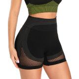 As mulheres personalizado empurre para cima presa a ioga Pants Calças de compressão mulheres amassar mechas Butt of Ecológico de calças de ioga