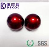 Bola de color azul hueco bola decorativa de acero inoxidable