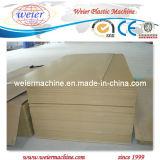 Cadena de producción de la tarjeta de la espuma de la corteza de WPC con el certificado del CE (SJSZ-80/156)