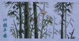 Punto trasversale completato (bambù primaverile)