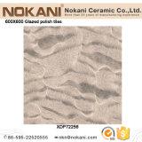 600X600 glanzend kijk de Verglaasde Poolse Tegel van de Tegels van het Porselein voor Bevloering
