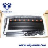8 Mobiltelefon-Signal-Hemmer Bänder justierbarer leistungsfähiger 3G 4G UHFvhf-WiFi