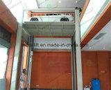 Hydraulischer vertikaler Autoaufzug mit 4 Pfosten für Untergrund