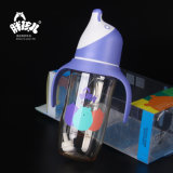 Het Voeden PPSU Fles Brede Mond met Baby 180ml die van /BPA van het Handvat de Vrije Baby met de fles grootbrengen