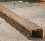 L'Intérieur en polyuréthane imitation bois décoratifs faisceau pour la vente directe