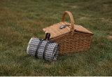 De in het groot Goedkope Decoratieve Rieten Mand Van uitstekende kwaliteit van de Picknick