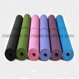 Venda quente Ginásio resistente de alta qualidade EPT Tapete de Yoga dobrável com linha de posição do corpo
