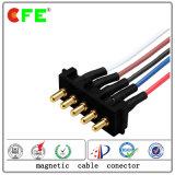 LED를 위한 케이블을%s 가진 5pin Pogo 핀 커넥터