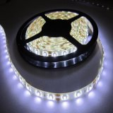 Cc12V/24V Super brillante ajustables de color doble tira de LED blanco 3528