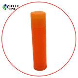 Bálsamo para lábios tubo plástico personalizado bálsamo para lábios contentor Batom caso
