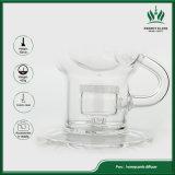 10 Zoll neues tolles Ei-Glasrohr Faberge Ei-Wasser-Rohr-Recycler-Rohr-
