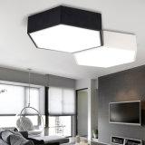 Venta de fábrica de lámparas de techo LED regulable para dormitorios de diseño de moda