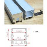 En option LED lumière linéaire en aluminium de longueur pour les meubles/armoire/Armoire