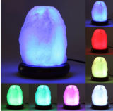 Новые Crystal Гималайский соли светильник с ночной свет