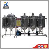Refinaria de óleo de palma populares máquina Máquina de refinação de óleo de abacate e pequenas instalações de refinação de óleo comestível de mostarda