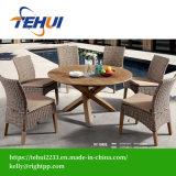 Для использования вне помещений современной деревянной отель/Home обеденный стол и стул, патио с видом на сад мебель