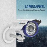 720/1080P屋外の弾丸無線IPネットワーク防水保安用カメラ