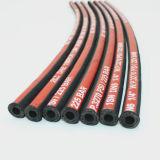 SAE 100R1 1SN de alambre de acero de alta presión mangueras hidráulicas trenzadas