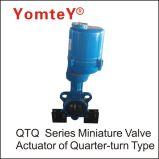 Azionatore rotativo specialmente progettato del micro quarto della valvola dell'azionatore della valvola