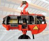 ホックのタイプ3トンの二重速度のオーバーロードの振幅制限器が付いている電気チェーン起重機
