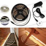 Stop van de Controle van de Sensor van de Motie van de Strook van het Neon van het Bed van de LEIDENE de Warme Witte Zaal van het Huis Lichte