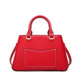 Nova chegada Red High End PU Mulher Tote Mala Fashion