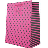 인쇄된 선전용 소매 선물 종이 쇼핑 백 (YH-PGB022)