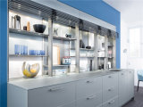 2015 Design exquis Welbom Blanc laqué brillant des armoires de cuisine