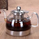 Cuisinière à induction utilisent électrique bouilloire à thé en verre Pyrex bouilloire bouilloire d'eau claire de la Verrerie