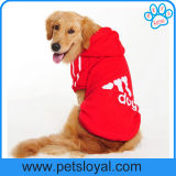 Accesorios del animal doméstico pequeños y ropa grande del perro de la ropa del animal doméstico de Adidog