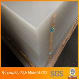 Hoja de acrílico transparente de plástico transparente Panel acrílico