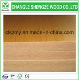 Material de E2 pegamento álamo 1220 * 2440 mm melamina MDF