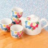 市場の陶磁器の茶鍋セットの普及したデザイン