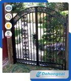 優雅な住宅の赤い錬鉄のゲート(dhgate-1)