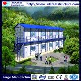 Case prefabbricate Casa-Verdi d'acciaio della Casa-Costruzione prefabbricata modulare di lusso