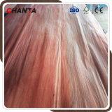 Folheado natural Shandong Linyi do folheado 0.3mm da face de Plb